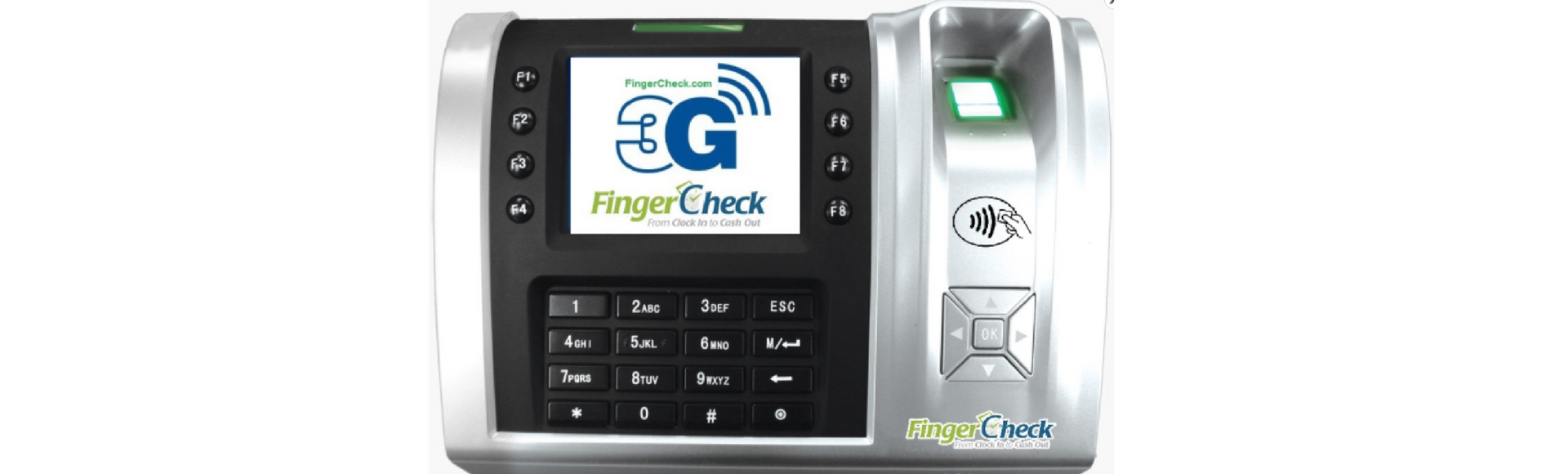 FINGERPRINT TIME CLOCK 3G SERVICE