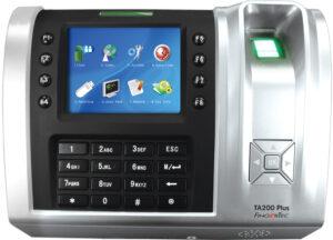 Fingercheck biometric time clock.