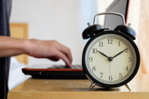 Time clock counts employee time worked for compliance with the new overtime rules to come in December.