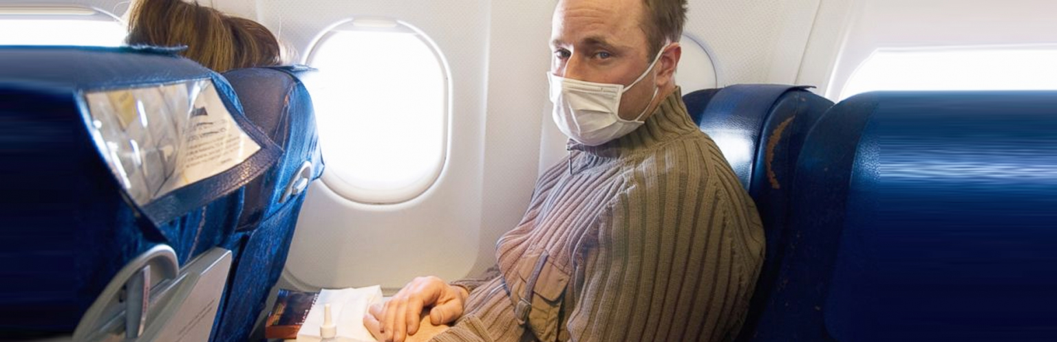 wear mask in the plane